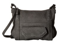 Steve Madden Distressed Crossbody Charcoal Cross Body Handbags Gray