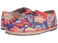 Sebago Darien Lace Up Persia Liberty Print Women's Lace Up Casual Shoes Pink