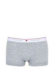 Dsquared Stretch Cotton Jersey Boxer Briefs