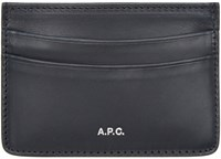 A.P.C. Navy Andra Card Holder