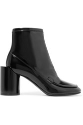 Maison Martin Margiela Patent Leather Ankle Boots Black