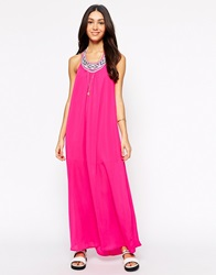 Meghan Fabulous Uyuni Maxi Dress Fuschia