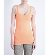 Sweaty Betty Namaska Jersey Yoga Vest Top Passion Coral
