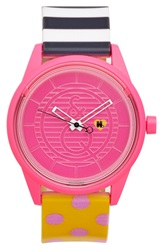 Harajuku Lovers Resin Solar Watch 40Mm Limited Edition Neon Eon