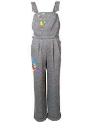Olympia Le Tan 'Andy Gabbiano' Overalls Grey