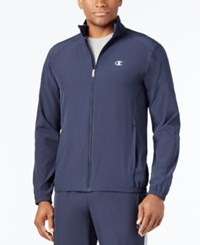 Champion Men's Woven Track Jacket Navy