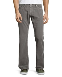 Ag Adriano Goldschmied Protege Straight Leg Corduroy Pants Sulfur Gray