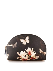 Givenchy Magnolia And Butterfly Print Cosmetics Case