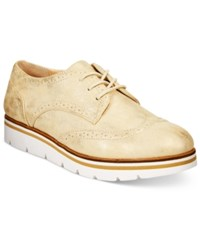 White Mountain Praise Lace Up Oxfords Women's Shoes Gold