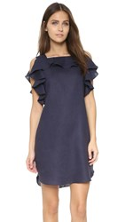Amanda Uprichard Claudette Dress Navy
