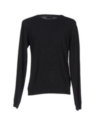 Private Lives Sweaters Steel Grey