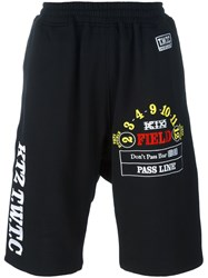 Ktz Track Shorts Black