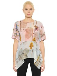 Clover Canyon Rhythmic Whispers Printed Chiffon Top