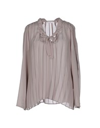 Gold Case Shirts Blouses Women Lilac