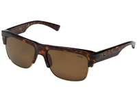 Zeal Optics Emerson Gold Tortoise Copper Polarized Lens Sport Sunglasses Brown