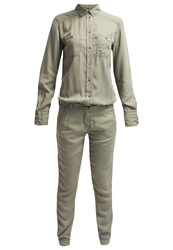 Marc O'polo Jumpsuit Green Leaf