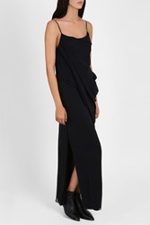 Rag And Bone Irina Strappy Silk Dress Black