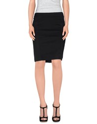 Guess By Marciano Skirts Knee Length Skirts Women Black