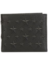Jimmy Choo 'Mark' Billfold Wallet Black
