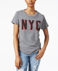 Rachel Rachel Roy Nyc Graphic T Shirt Heather Grey