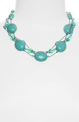 'Ronnie Fabulous' Torsade Necklace Turquoise