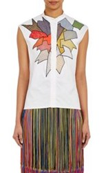 Christopher Kane Sleeveless Shirt White