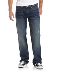 7 For All Mankind Boot Cut Jeans Deep Blue