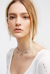 Free People Womens Electric Bar Choker