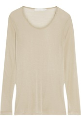 Kain Label Ramone Modal And Silk Blend Jersey Top