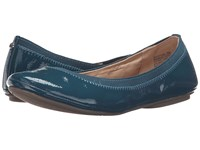 Bandolino Edition Blue Green Patent Women's Flat Shoes