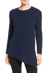 Nordstrom Women's Collection Cashmere Asymmetrical Hem Sweater