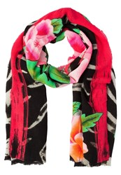 Desigual Wild Rose Scarf Multicoloured
