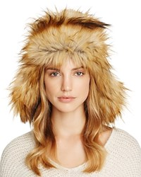 Free People Wild Things Trapper Hat Black White