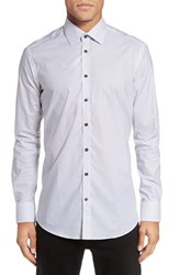 Sand Men's Nvyretro Trim Fit Print Sport Shirt