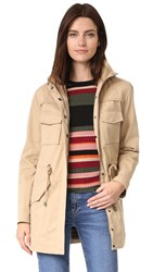 Alice Olivia Atticus Oversized Jacket Tan