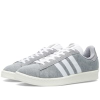 Adidas X Bedwin And The Heartbreakers Campus 80S Medium Grey And White