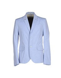 Carven Suits And Jackets Blazers Men Sky Blue