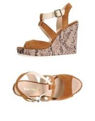 Peter Flowers Sandals Brown