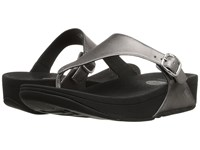 Fitflop The Skinny Leather Pewter Women's Shoes