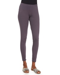 Pure Handknit Stretch Cotton Jersey Leggings