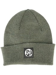 Paul Smith Ps By Pull Over Beanie Green