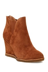 Bettye Muller Zap Wedge Bootie Brown
