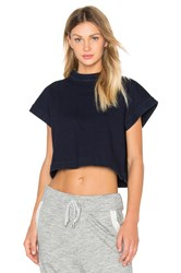 Ag Adriano Goldschmied Capsule Trapezi Top Navy
