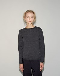 Comme Des Garcons Wool Pullover Grey
