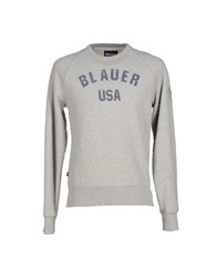 Blauer Sweatshirts Grey