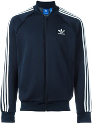 Adidas Originals 'Superstar' Track Jacket Blue