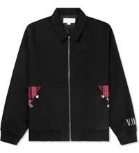 Volume 02 Black Burke Flight Jacket
