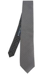 Etro Patterned Tie Black