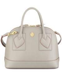 Anne Klein Atlas Billie Dome Satchel Medium Grey