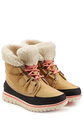 Sorel Ankle Boots With Lug Sole Multicolor